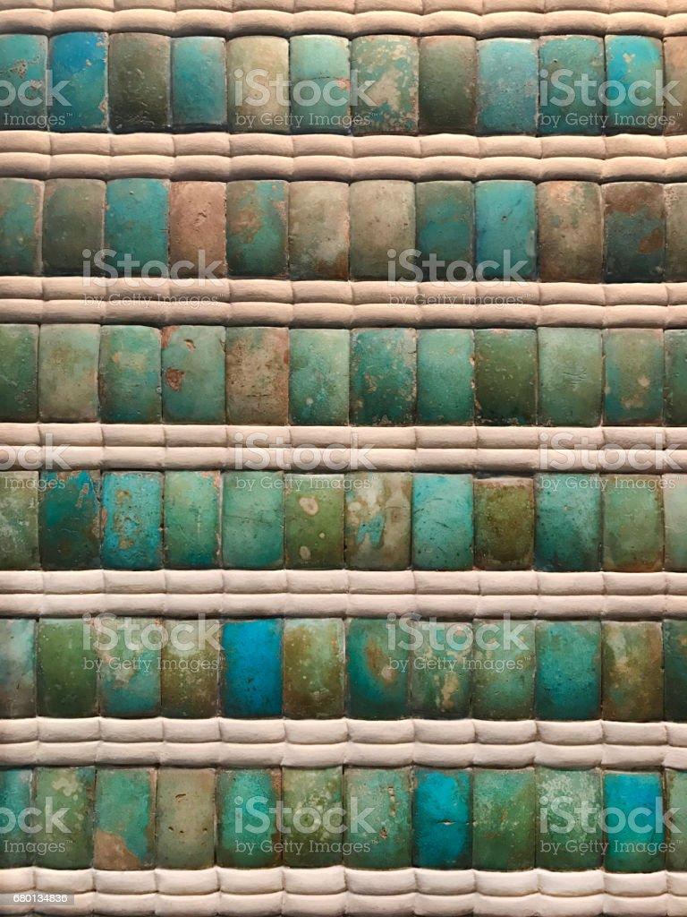 turquoise tile background stock photo