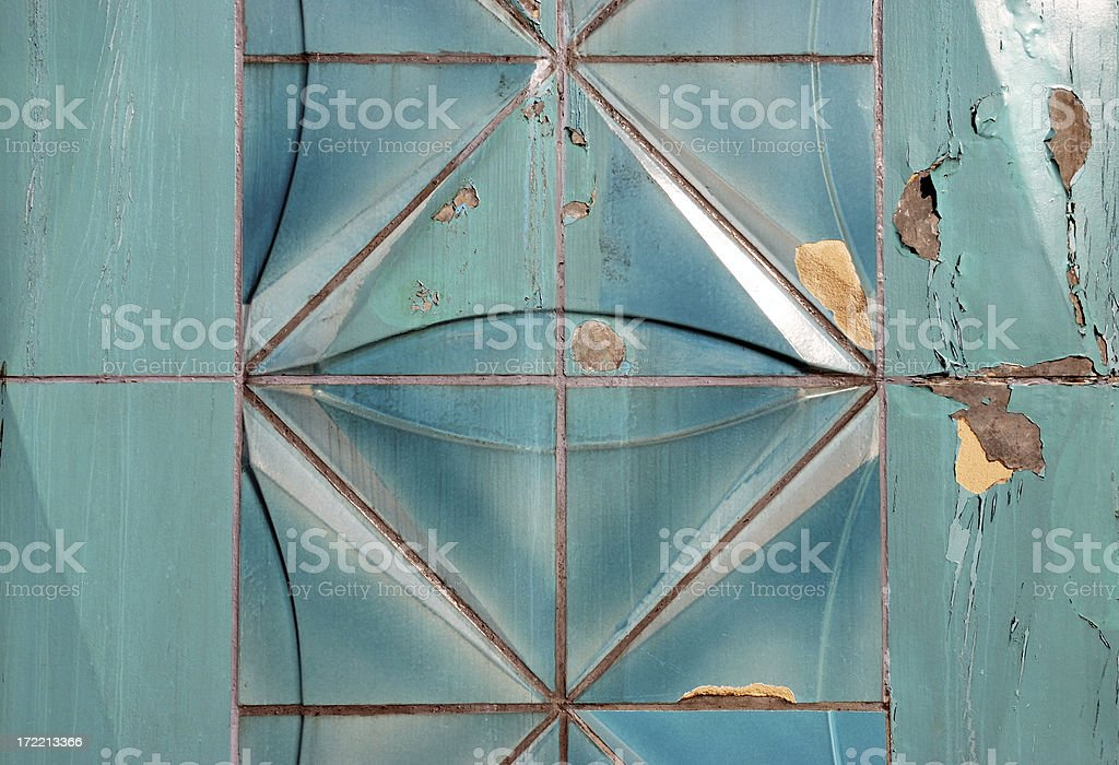 turquoise tiles royalty-free stock photo