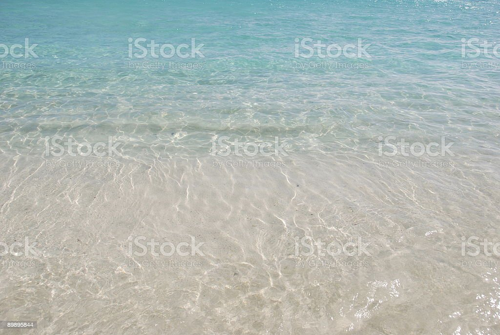 Turquoise water background royalty-free stock photo
