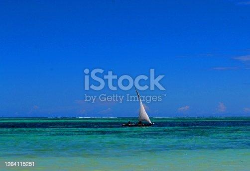 Paradise beach in Zanzibar, Tanzania