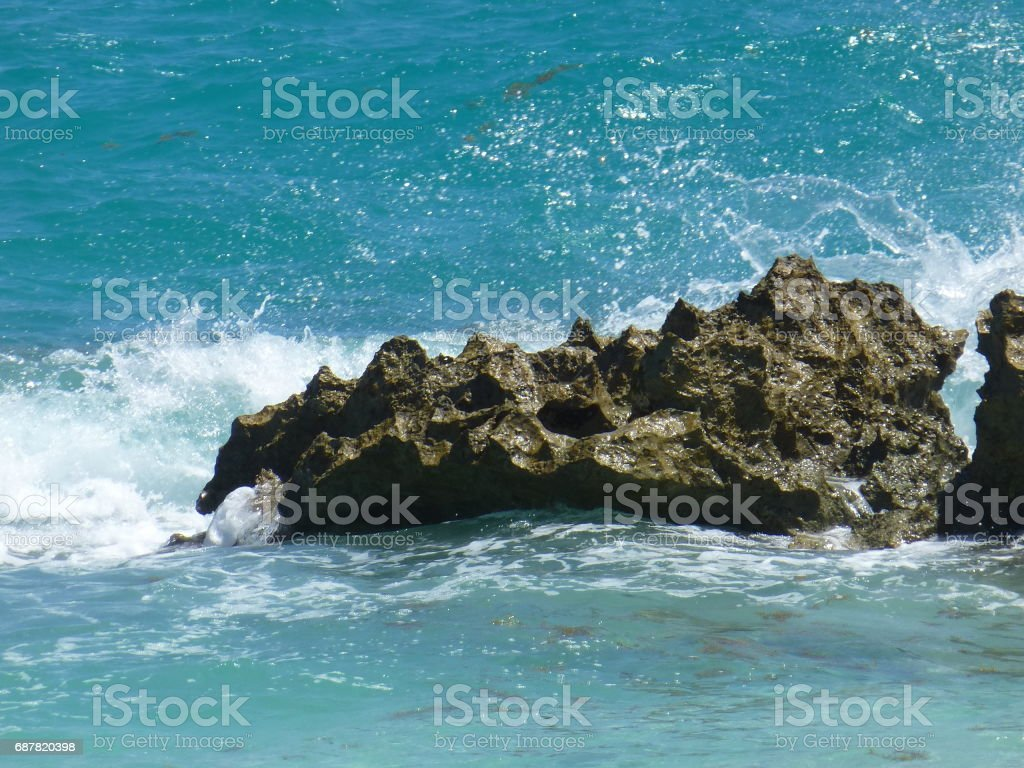 Turquoise Waters of Bermuda stock photo