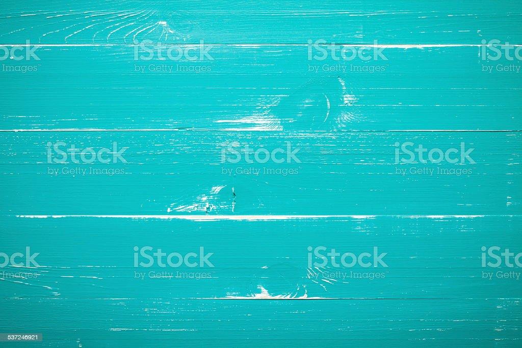 Turquesa fondo de madera - foto de stock