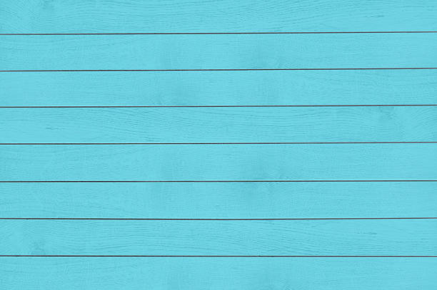 Turquoise wood texture stock photo