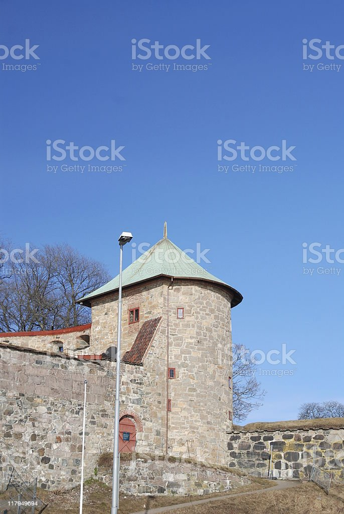 Turret stock photo