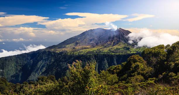 Turrialba Volcano stock photo