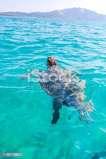 Amazing turtle in Zakynthos