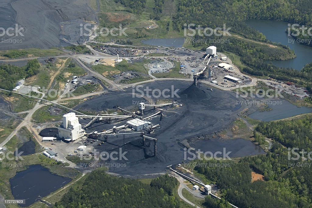 Tuscaloosa County Coal Mine royalty-free stock photo