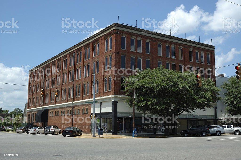 Tuscaloosa Historical Building royalty-free stock photo