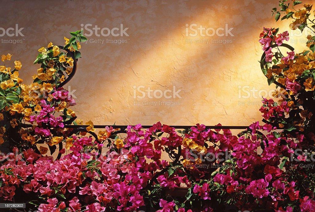 Tuscan Balcony royalty-free stock photo