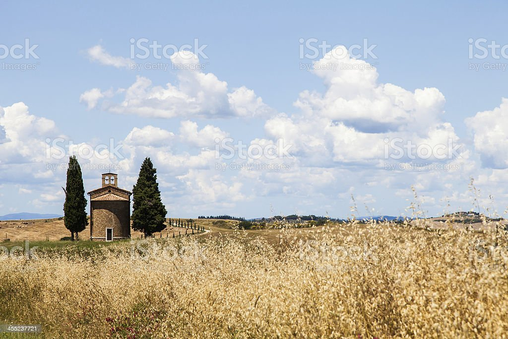Tuscan country royalty-free stock photo