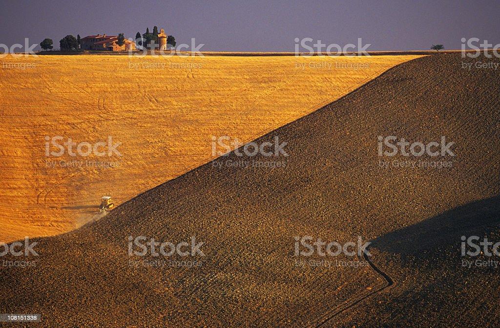 Tuscan Landscape, Italy royalty-free stock photo