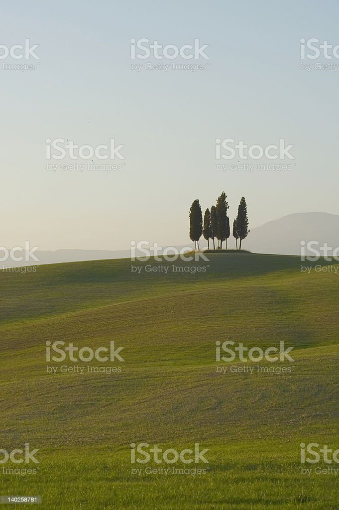 tuscan lanscape royalty-free stock photo