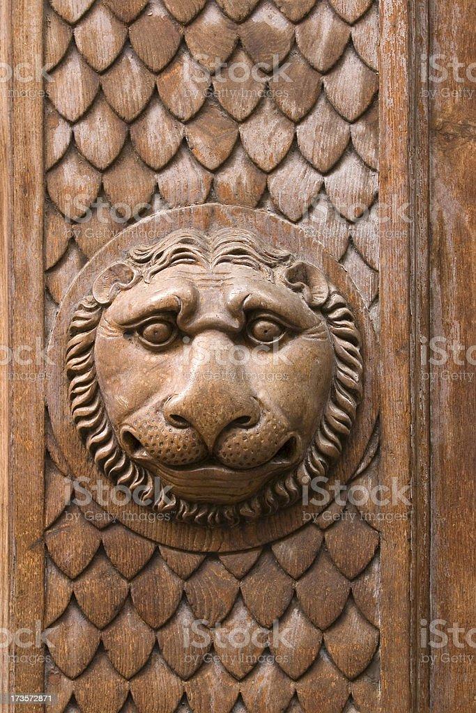 Tuscan Lion royalty-free stock photo