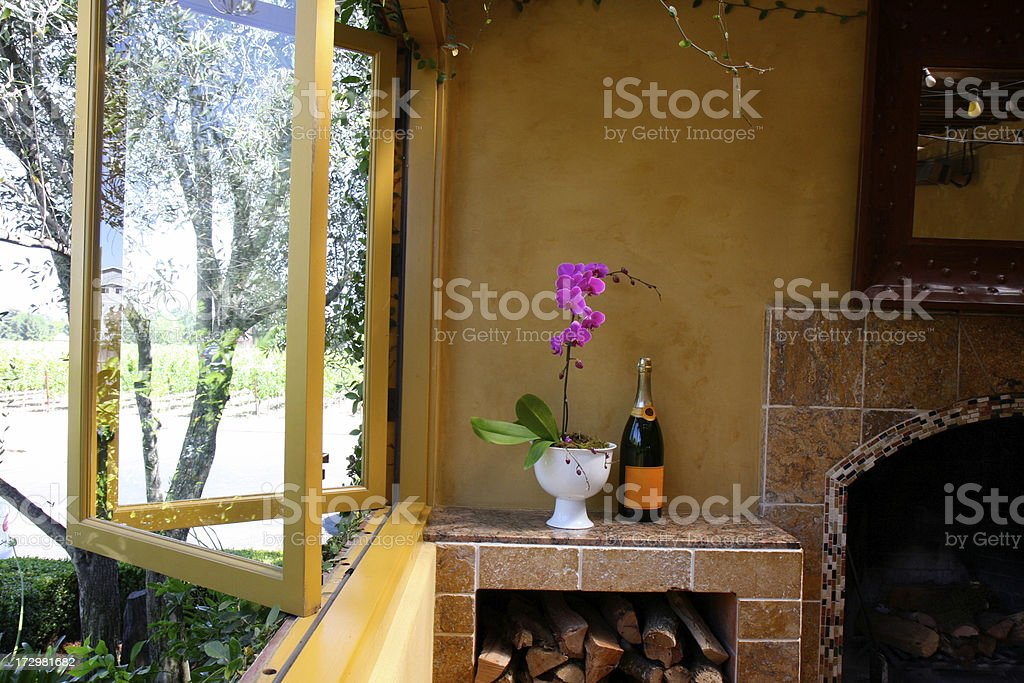 Tuscan Scene royalty-free stock photo