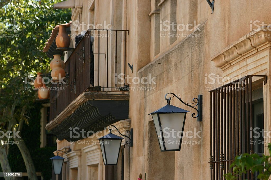 A Tuscan Touch royalty-free stock photo