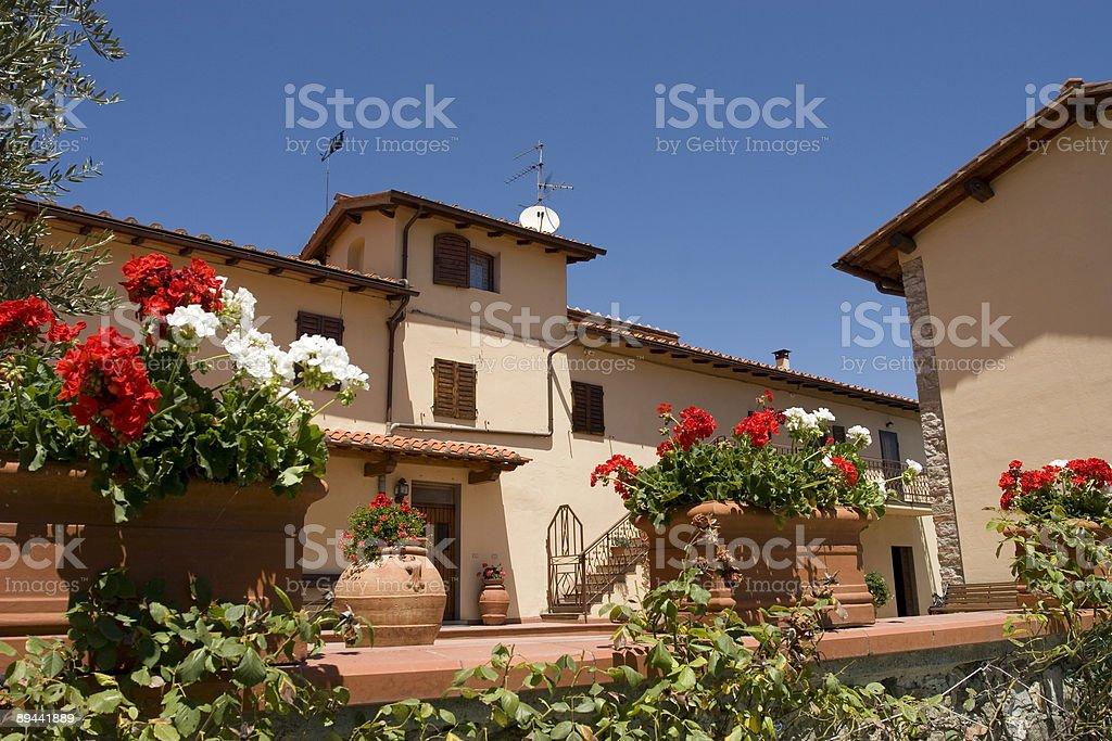 Tuscan Villa royalty-free stock photo