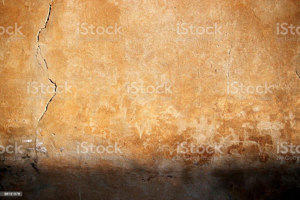 Tuscan wall royalty-free stock photo