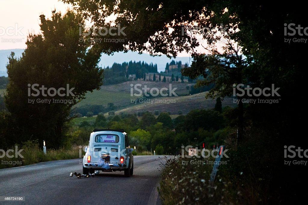 Tuscan wedding stock photo
