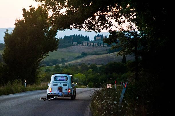 tuscan wedding - nygift bildbanksfoton och bilder
