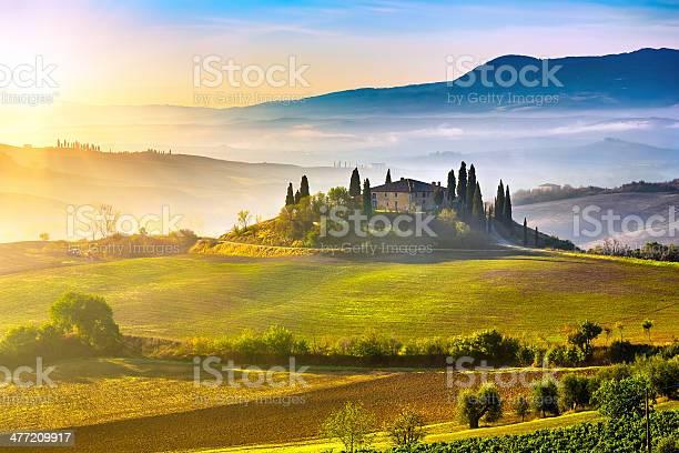 Tuscany at sunrise picture id477209917?b=1&k=6&m=477209917&s=612x612&h=qro9stuffqdkk4vmo4ngzvhn0xoe0hyzizrhazbyh4a=