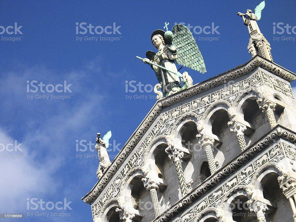 tuscany church royalty-free stock photo