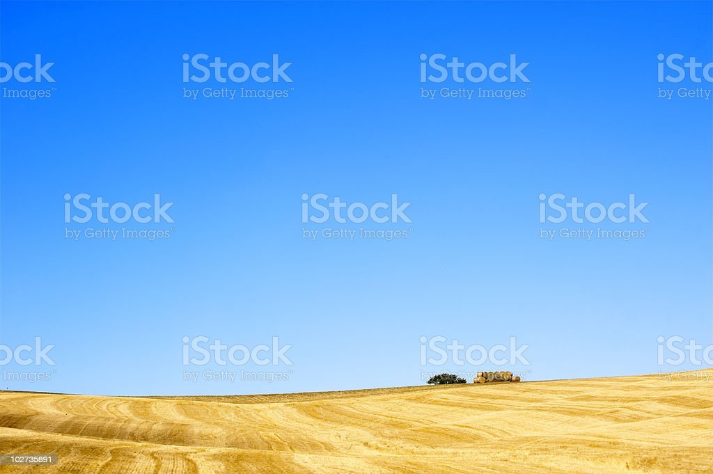 tuscany country royalty-free stock photo
