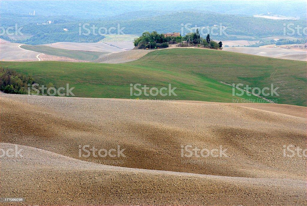 Tuscany, Crete Senesi stock photo
