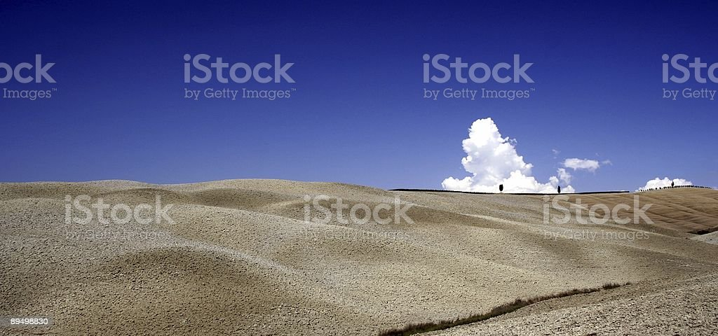 De Toscane Hills photo libre de droits