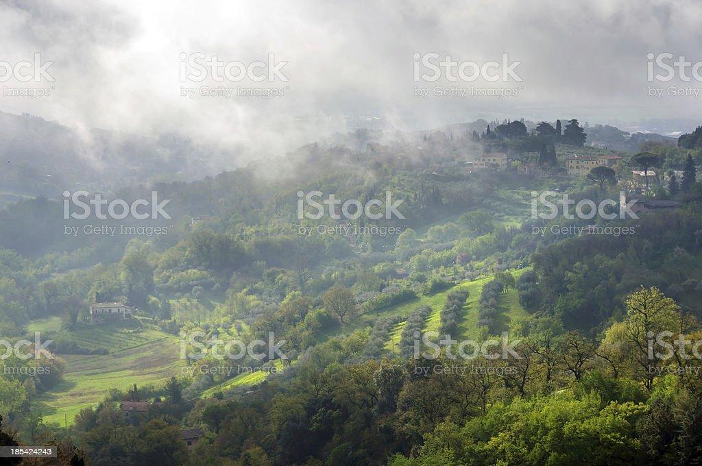 Tuscany landscape, Italy, Europe royalty-free stock photo