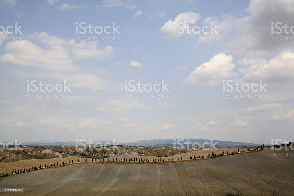 Tuscany: Landscape royalty-free stock photo