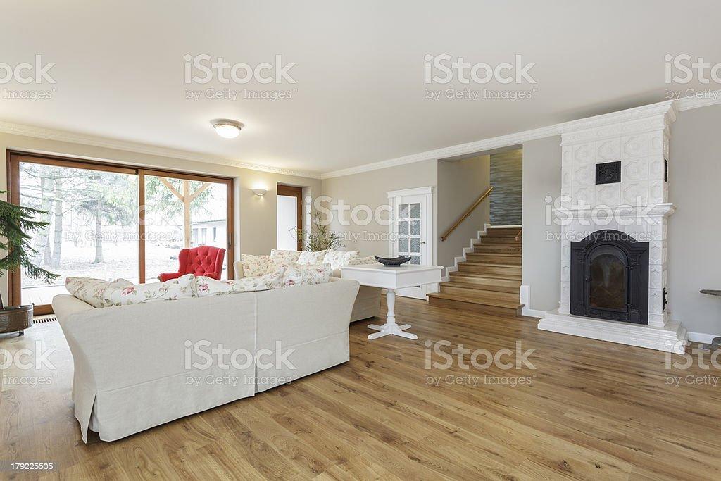 Tuscany - living room royalty-free stock photo