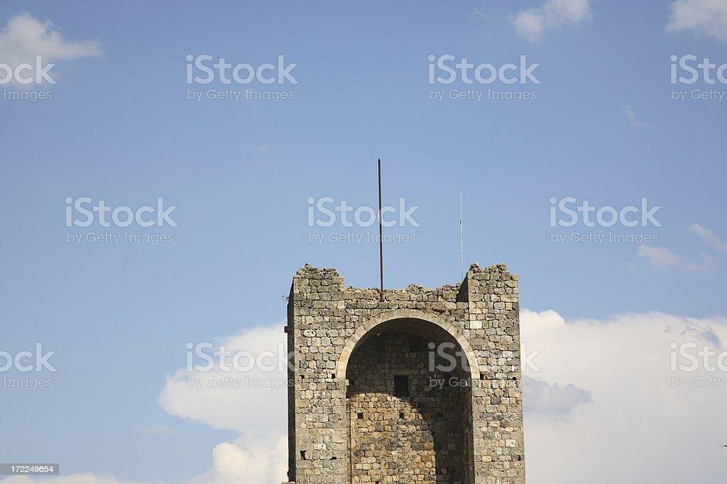 Tuscany: Monteriggioni royalty-free stock photo