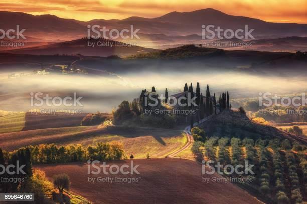 Tuscany panoramic landscape with famous farmhouse rolling hills and picture id895646760?b=1&k=6&m=895646760&s=612x612&h=e 5v5twpi7ew9lomhb 5hujwwzkbakisjvrpa1v52u8=