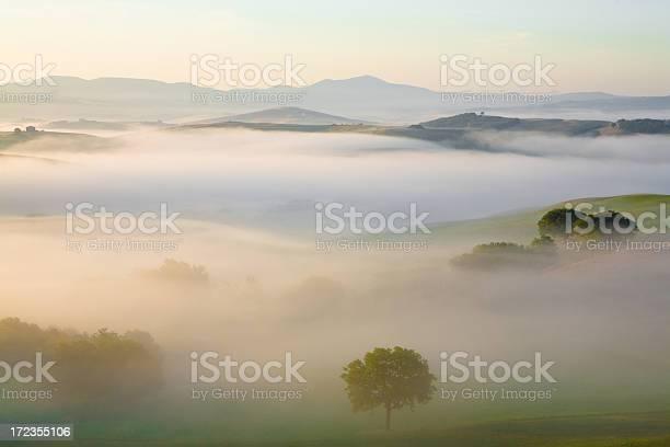 Tuscany Sunrise Stock Photo - Download Image Now
