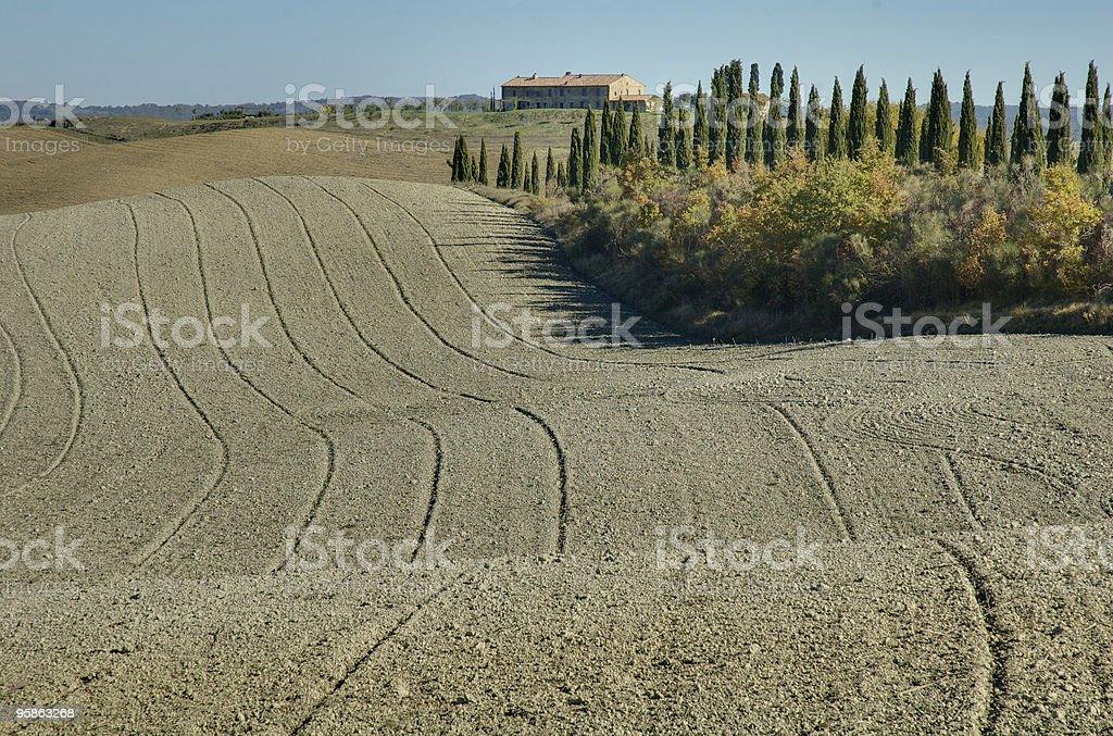 Toscana vista - foto stock
