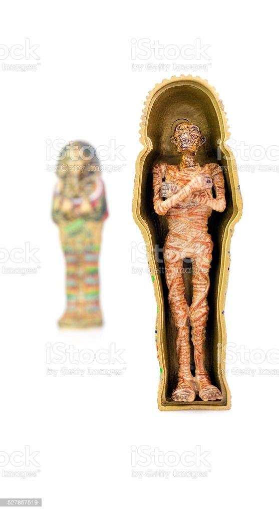 Tut Pharaoh Figurine stock photo