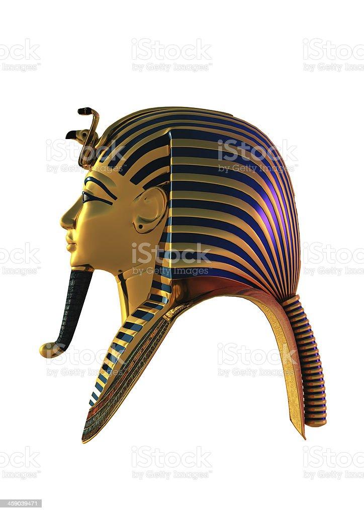 Tutankhamen Mask stock photo