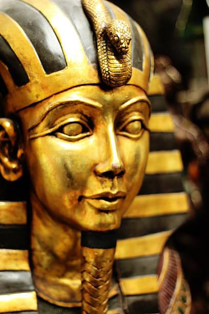 Tutankhamun Face stock photo