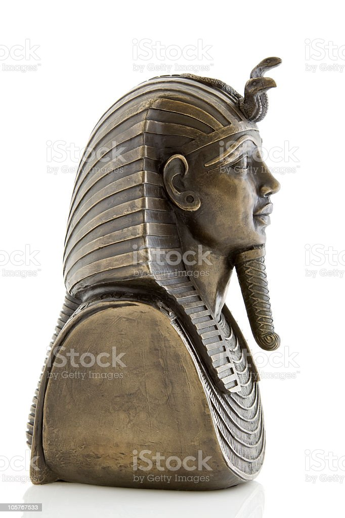Tutankhamun royalty-free stock photo