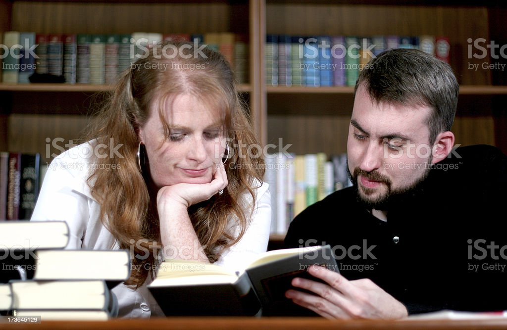 Tutoring session. royalty-free stock photo