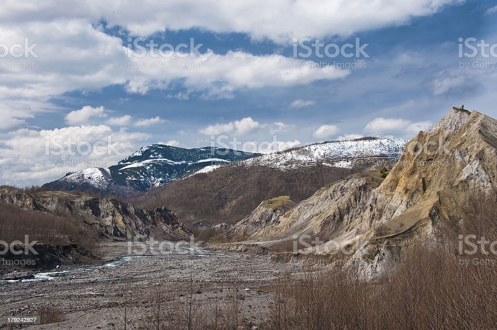 Tuttle River royalty-free stock photo