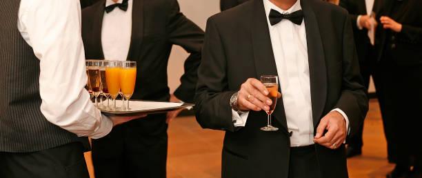 燕尾服和禮服招待會派對3 - 禮服 個照片及圖片檔