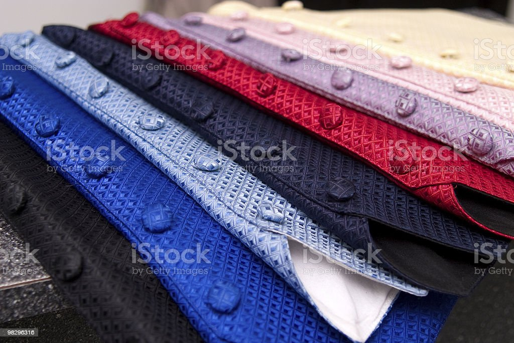 Gilet colorato da smoking foto stock royalty-free