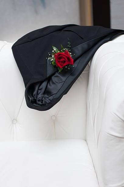 Tuxedo Jacket stock photo