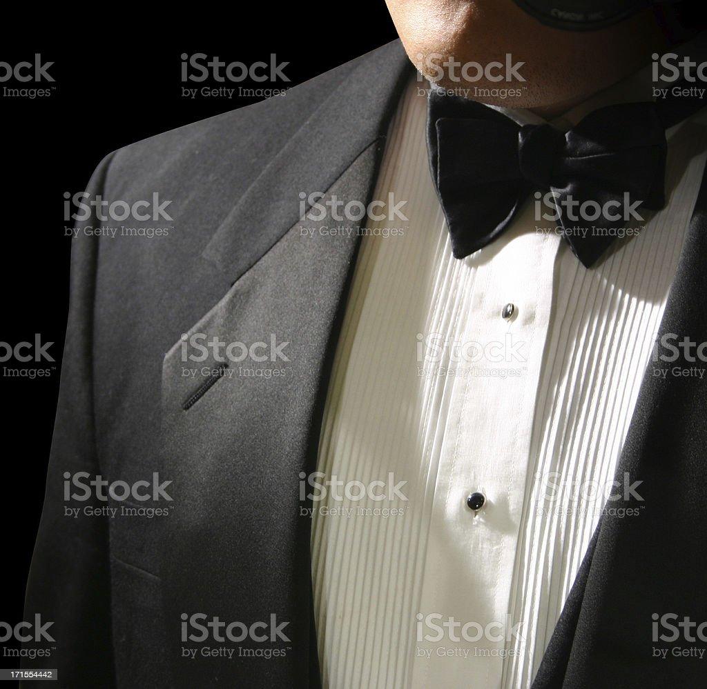Tuxedo Pose stock photo