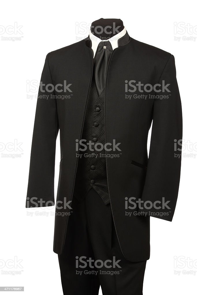 Tuxedo with Tie and Vest royalty-free stock photo