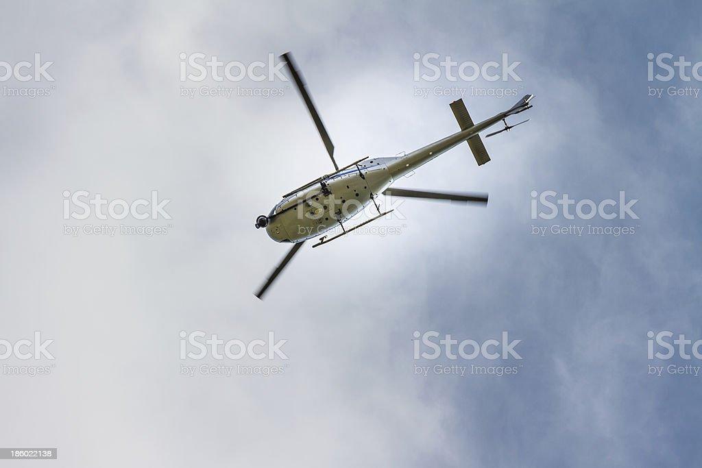 Tv de helicóptero - foto de acervo
