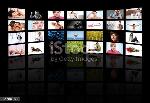 istock Tv media panel 137861322