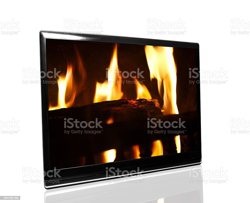 tv monitor stock photo