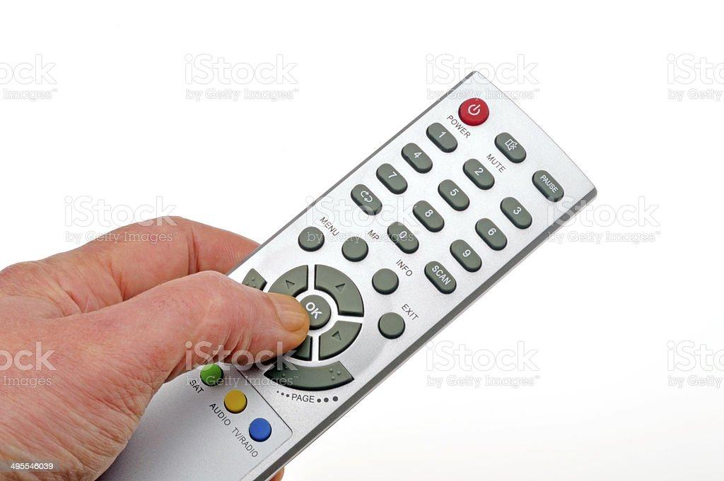 tv remote controller stock photo